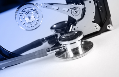 In most cases data is recoverable from failed hard drives