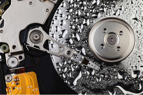 What To Do If Water Damages Your Hard Drive